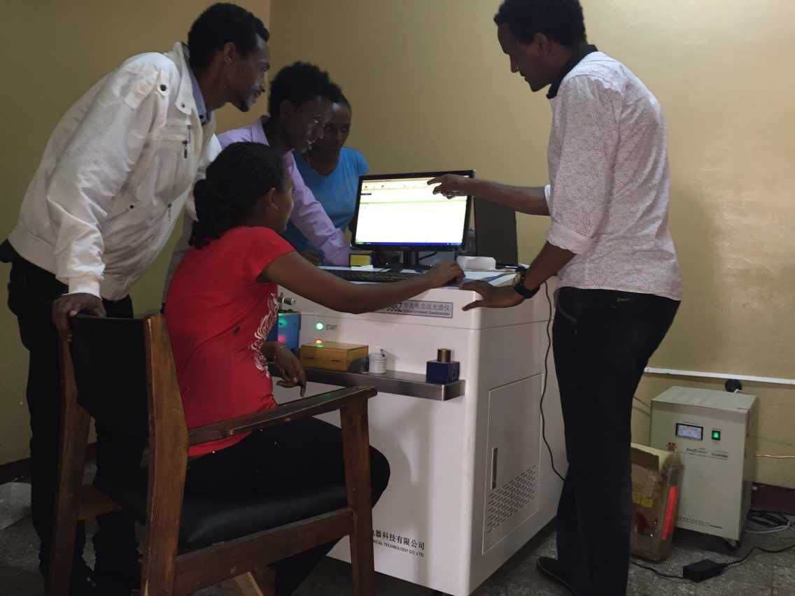 Install JB-750 Optical Emission Spectrometer in Ethiopia